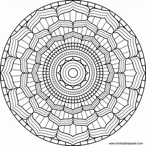 simple pattern mandala simple mandala designs coloring home