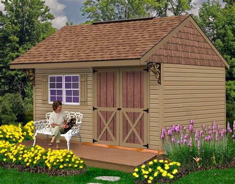 Small Wood Shed Kits