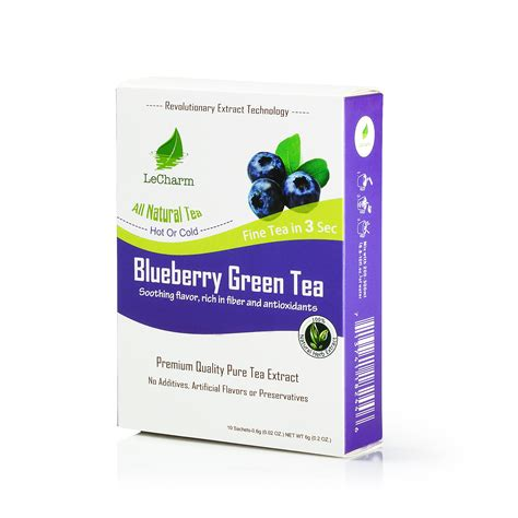 Blueberry Essence For Detox by Blueberry Greentea Extract Lecharm Tea
