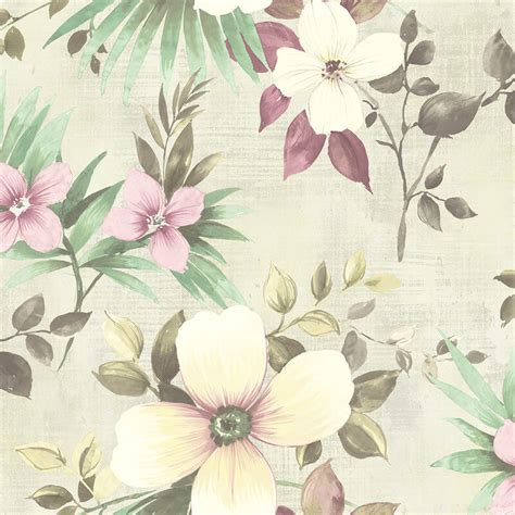 dusty pink wallpaper uk nina hancock large floral dusty pink wallpaper nh10209