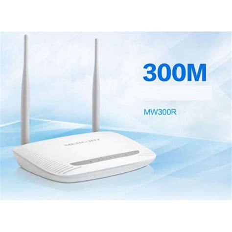 Router Wifi Unlimited Mw300r Wireless Router 300m Dual Antenna Unlimited Wifi