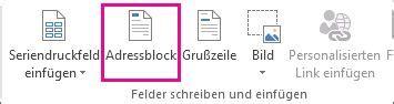 Etiketten Erstellen Publisher by Erstellen Von Etiketten Mit Verschiedenen Adressen In