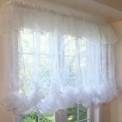 Curtain Valance Pattern Balloon Curtain