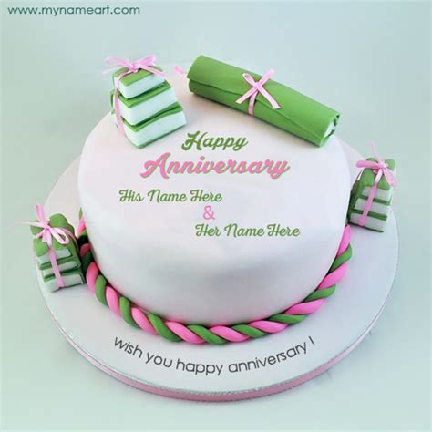 Wedding Wishes On Cake by Wedding Anniversary Wishes Cake Picture With Name