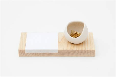 Ash And Porcelain Desk Catchall By Fashioned By Modern Fashion Desk Accessories