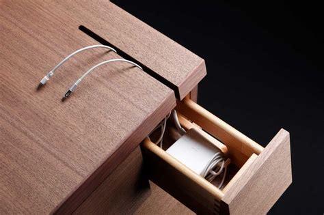 details we like cable management drawer wood desk