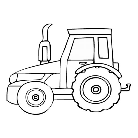 tractor template to print free coloring pages of tractors to print
