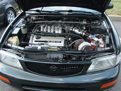 how do cars engines work 2003 nissan maxima electronic valve timing what do you do to make your engine look pretty