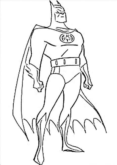 Free Printable Batman Coloring Pages For