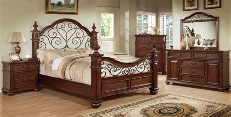 Wrought Iron And Wood Bedroom Sets by Wood And Wrought Iron Bedroom Sets Photos And