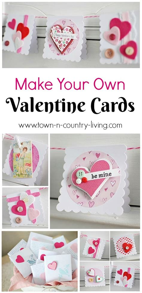 make a valentines day card s day cards town country living