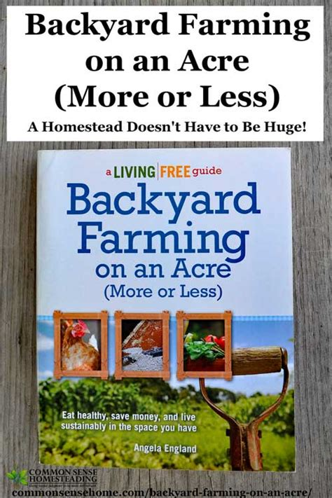backyard farming book backyard farming on an acre more or less living big in small spaces total survival
