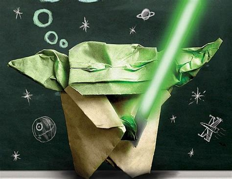 How To Origami Yoda - origami wars books minecraft