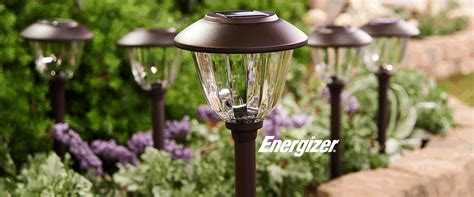 solar landscape lighting qvc qvc energizer 10 solar landscape light set