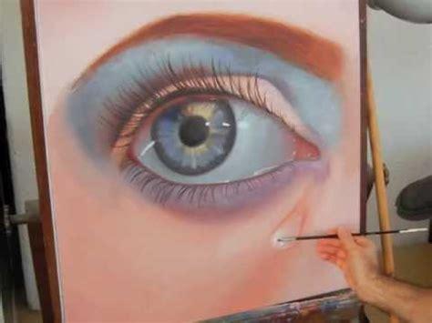 imagenes para pintar al oleo c 243 mo pintar un ojo realista al 243 leo arte divierte youtube