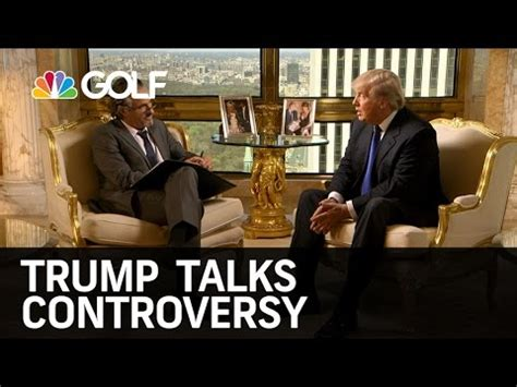 donald trump youtube channel donald trump talks controversy on feherty golf channel