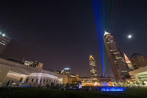 Aha Festival Of Lights Illuminates The Atmosphere Of Downtown Cleveland Lights