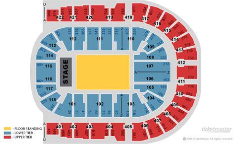 O2 Section Bk by Plan De La Salle Du O2 Millenium Arena
