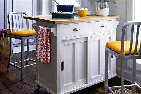 movable kitchen island designs useful portable kitchen island with storage and seating