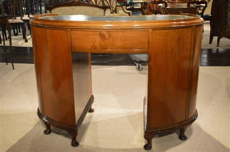 Kidney Shaped Writing Desk Walnut And Burr Walnut 1920s Kidney Shaped Writing Desk At 1stdibs