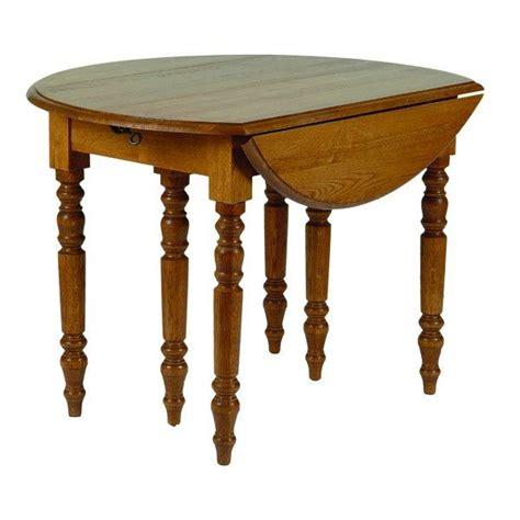 table cuisine ronde table de cuisine ronde en bois avec rallonges cercy