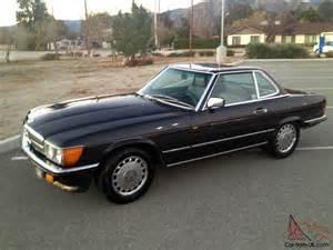 1986 Mercedes 560 Sl 1986 Mercedes 560sl Bumpers