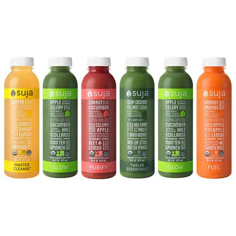 Suja Essentials Detox by Suja Juice Cleanse Nutrition Facts Besto