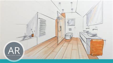 Innenarchitektur Zeichnen Lernen by B 228 Der Skizzieren Bad Design Skizzen Innenarchitektur