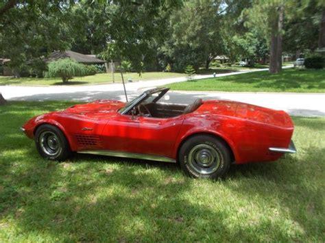 1971 corvette restoration 1971 corvette extensive frame on restoration