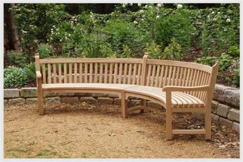 outdoor curved benches curved outdoor bench and their features household tips