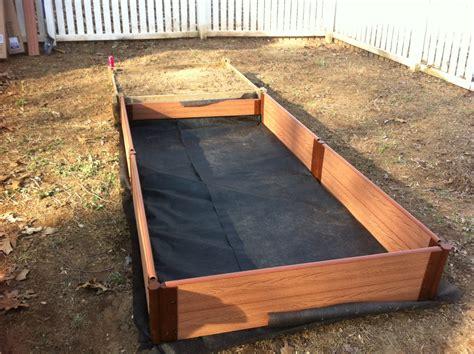 Build Raised Bed Garden Box
