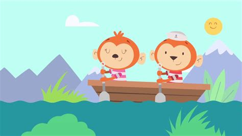 boat song for baby row row row your boat song for kids nursery rhymes