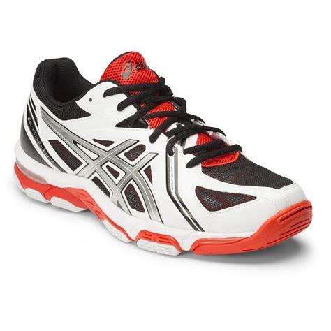 Sepatu Asics Gel Elite 3 asics gel volley elite 3 mens shoes white silver fiery sportitude
