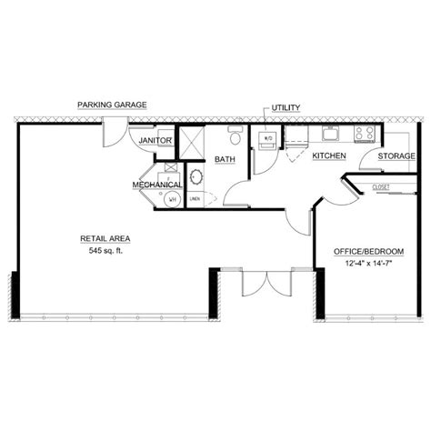 floor plan live live work floor plan 103 third ward