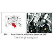 Lateral Acceleration Sensor G200  AudiWorld Forums