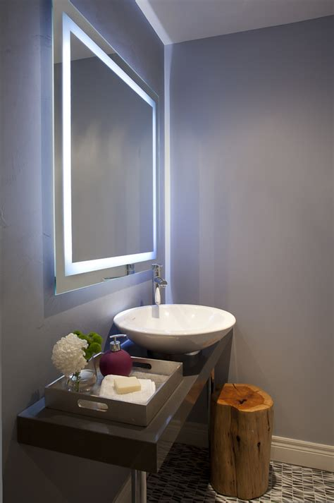 bathroom mirror lights Bathroom Traditional with Bathroom
