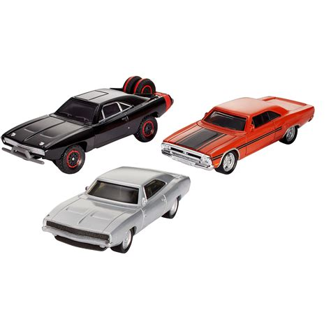 fast and furious diecast the fast and the furious diecast 3 car pack dom s torque