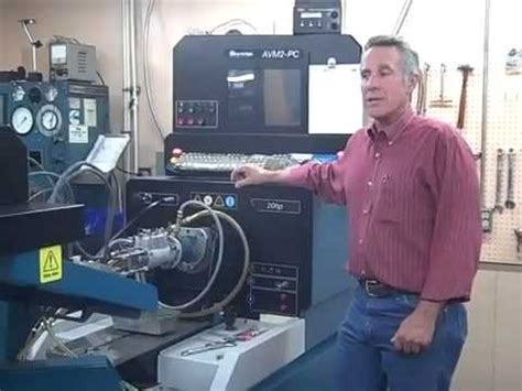 hartridge test bench hartridge avm 2pc test stand youtube
