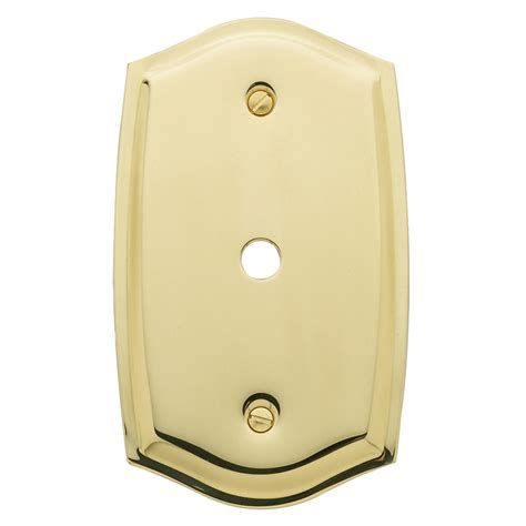 baldwin 4769 colonial cable cover plate low price door knobs