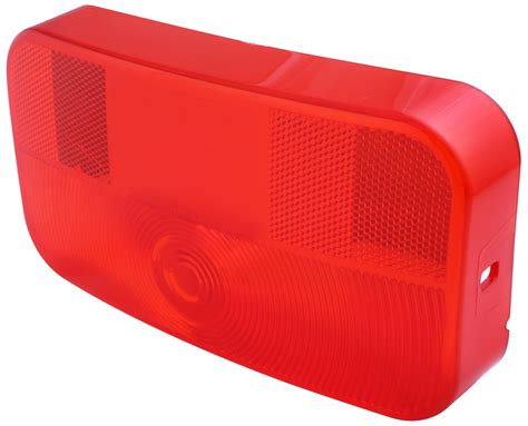 trailer tail light lens cover replacement replacement lens for bargman 92 series surface mount tail