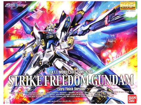 Mg Strike Freedom Gundam Finish Ver Bandai 1 100 mg strike freedom gundam finish version by