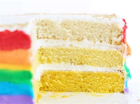 Ina Garten Cream Cheese Frosting by How To Make A Stunning Rainbow Cake With Gold Ombre Layers