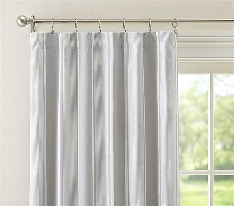 gray blackout curtains jackson blackout panel gray contemporary curtains by pottery barn kids