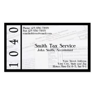 income tax business card templates income tax business cards templates zazzle