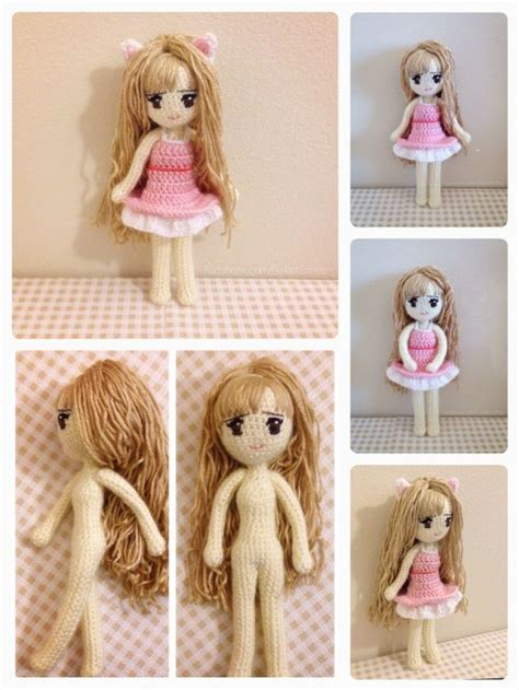 amigurumi human pattern who wants kiki the adorable kitty cat girl https