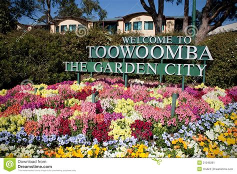 Garden City Flowers Toowoomba The Garden City Flowers Stock Image Image 21049281