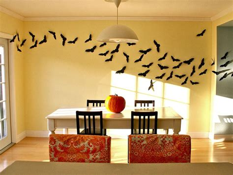 How To Make Decorations For Your Room Out Of Paper - flying bats hgtv