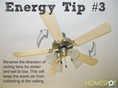 Ceiling Fans Direction For Heating by 17 Best Images About Energy Efficient Tips On