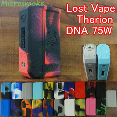 Lost Vape Therion Dna 75 Dna 133 Dna166 Custom Classic Brass 1 silicone for authentic lost vape therion dna75 133 166 75w dna75w evolv chip tc box mod