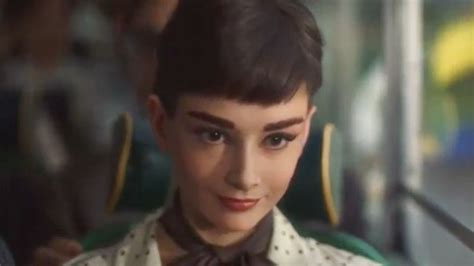 commercial actress dead audrey hepburn is resurrected again for chocolate ad adweek